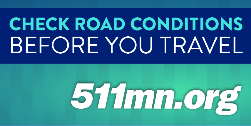 Check Road Conditions Before You Travel, 511mn.org