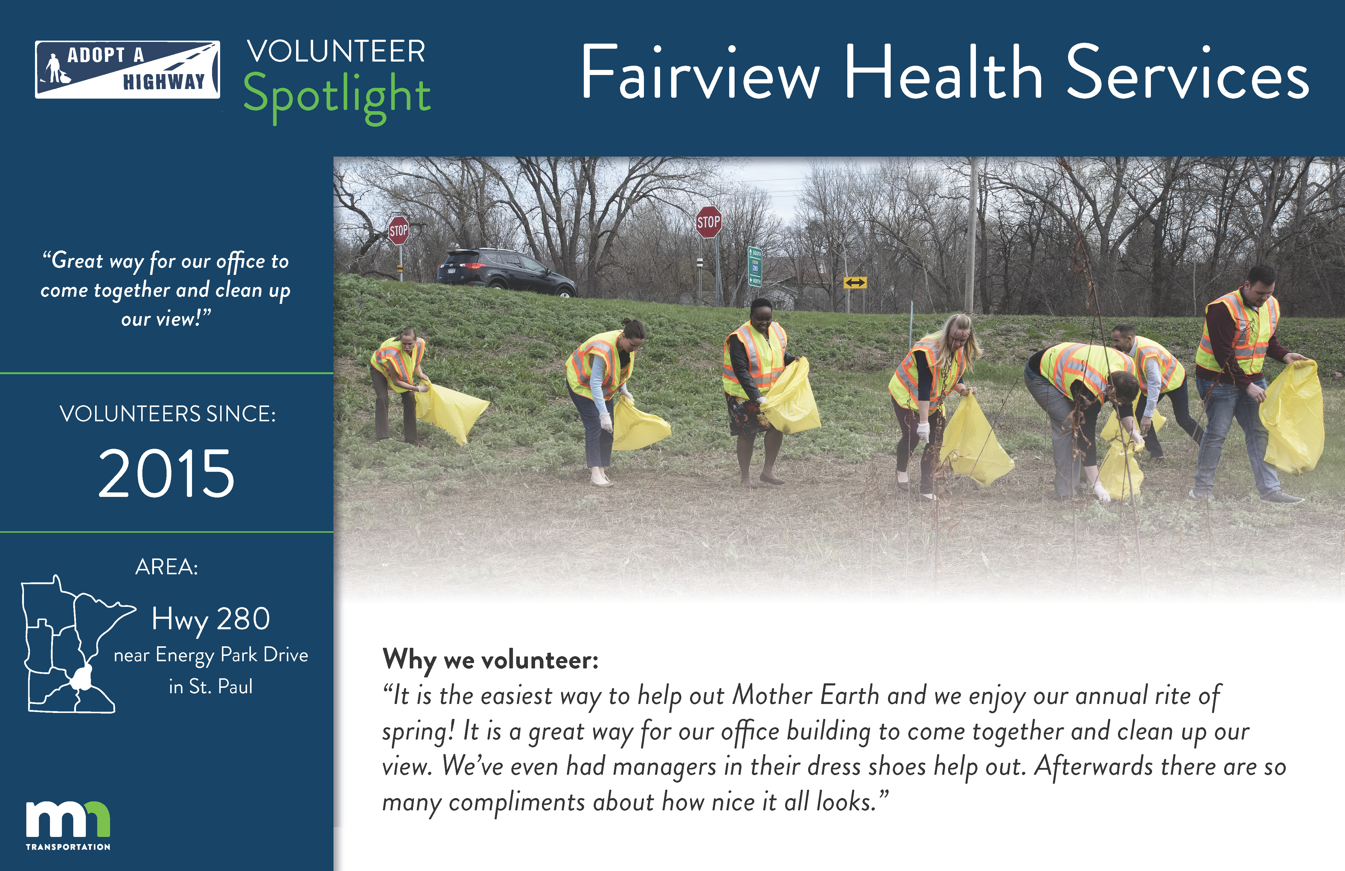 Adopt a Highway Volunteer Spotlight