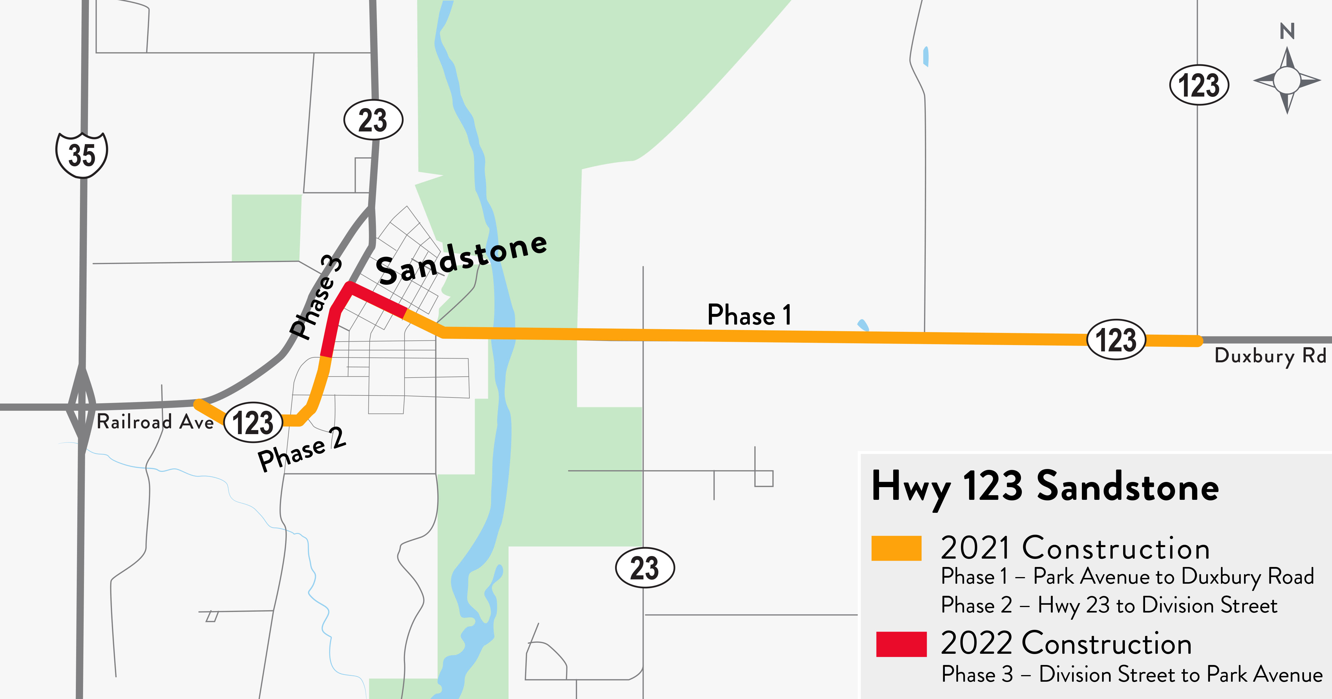 A rendering of the Hwy 123 Sandstone project.
