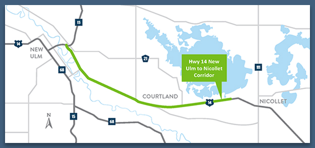 Hwy 14 project map