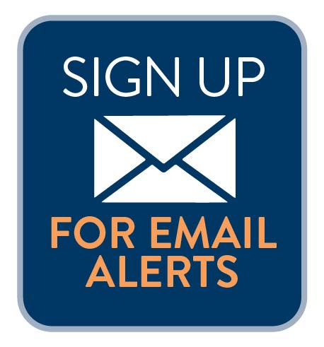 Sign up for MnDOT email alerts icon