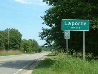 laporte municipality sign