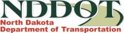North Dakota Department of Transportation logo