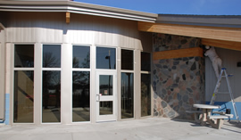 image of cass lake rest area