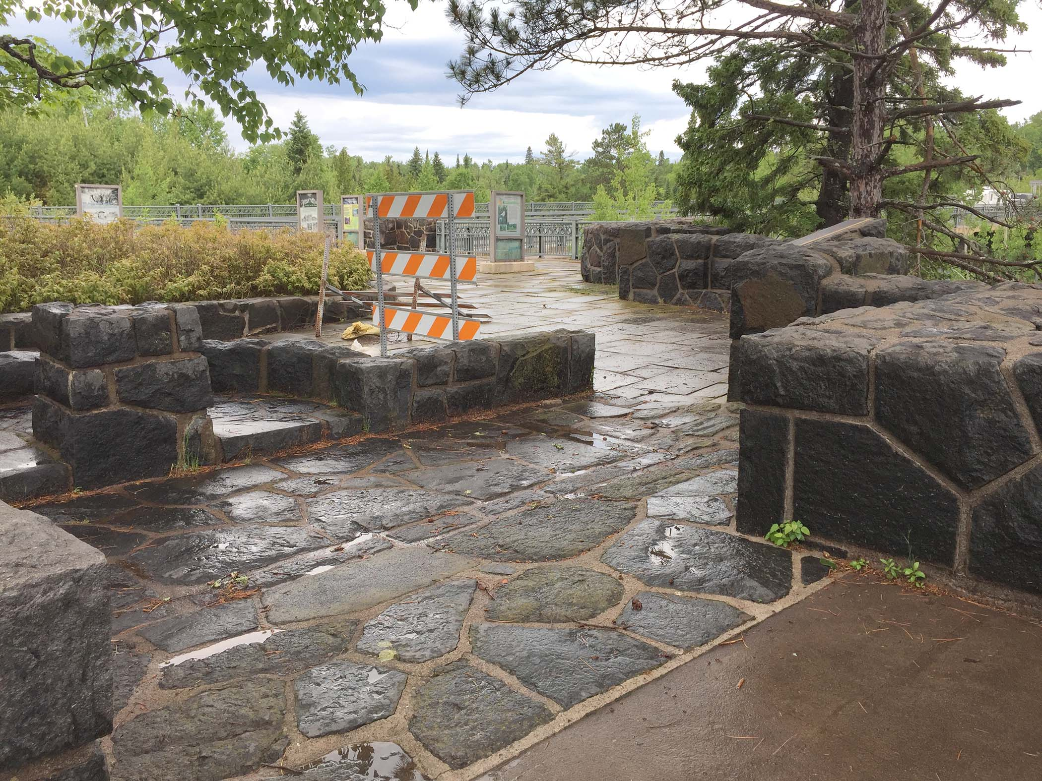 Gooseberry Falls Concourse Rehabilitation