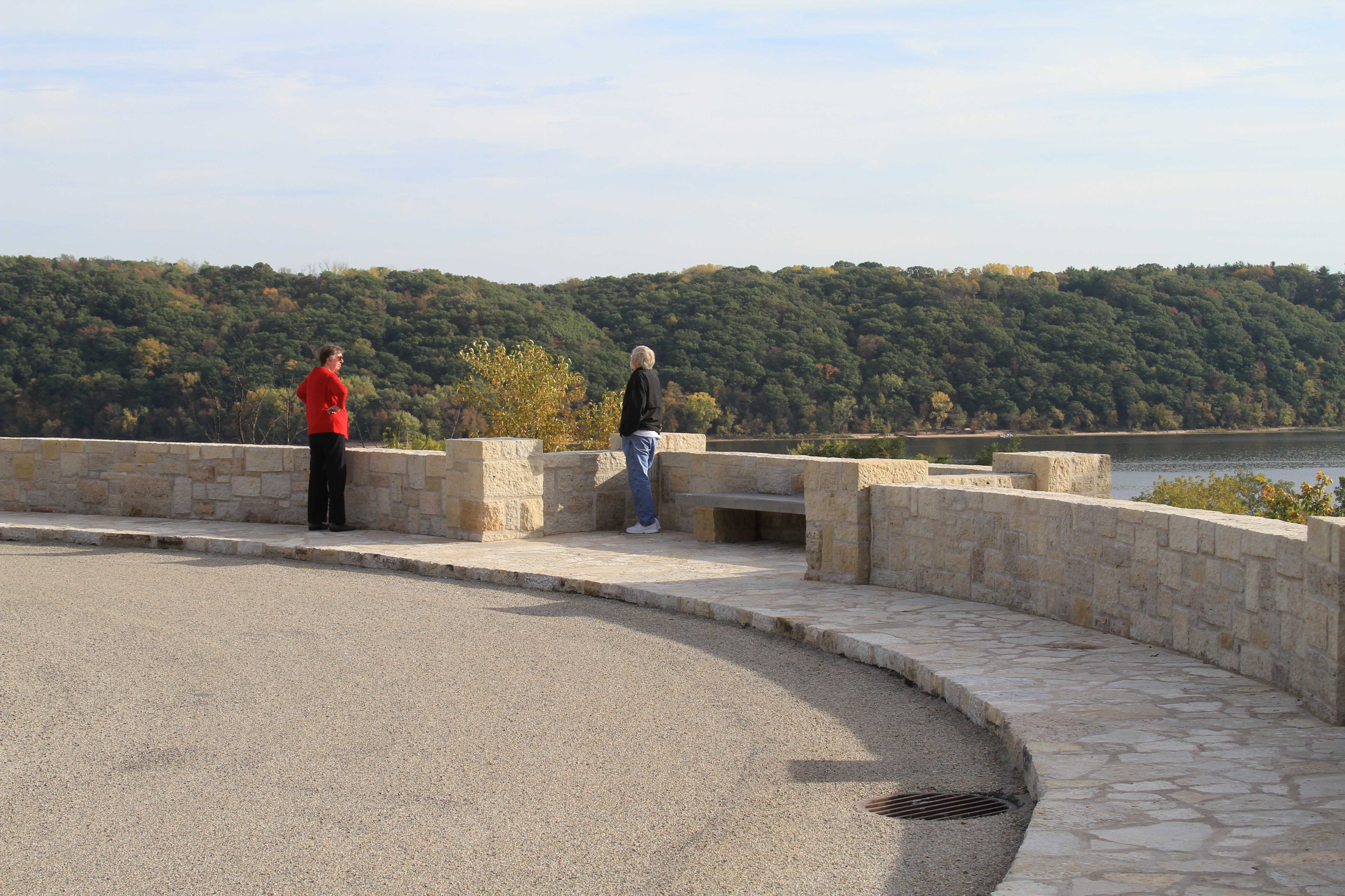 Lake St. Croix Overlook Restoration, a.k.a. Stillwater Overlook South