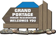 Grand Portage Community Identification sign example