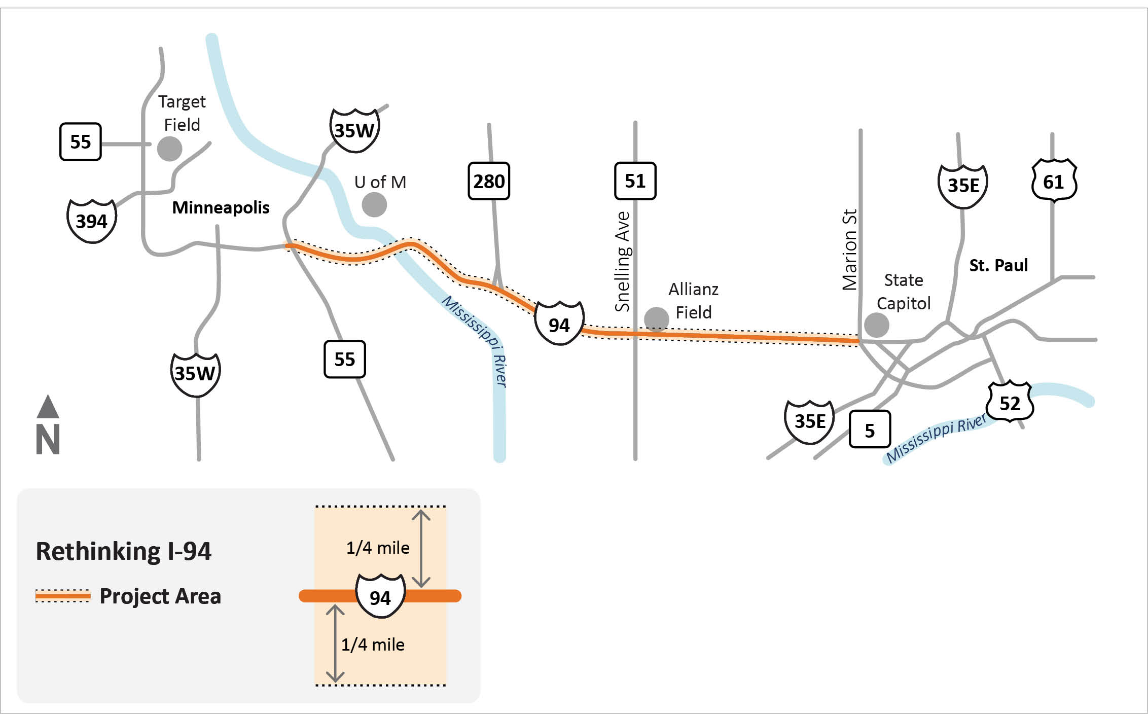 Hwy 149 project map