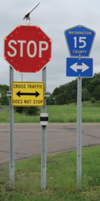 Stop Sign Warning Systems
